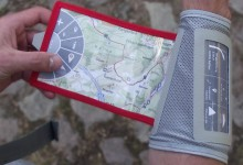 Flexible Wander- & Reisekarte
