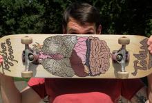 Entwürfe für Skateboard Grafiken