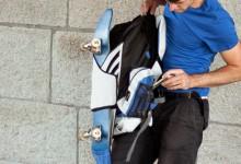Packesel — Skateboardrucksack